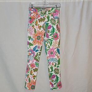 Gretchen Scott Flower Print Pants
